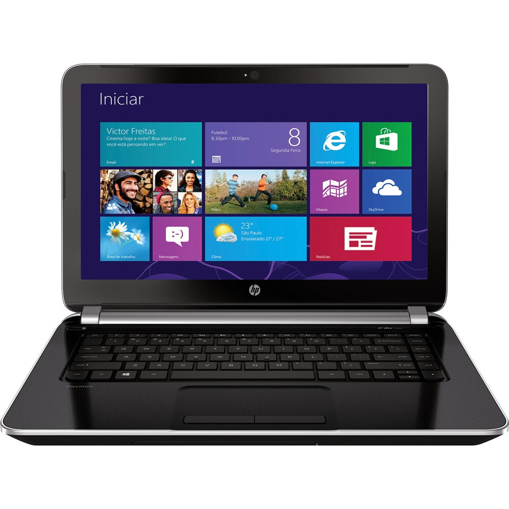 "Conheça o Notebook HP Pavilion 14-N020BR com Intel Core i5-4200U 4GB 500GB Tela 14"" Windows 8"