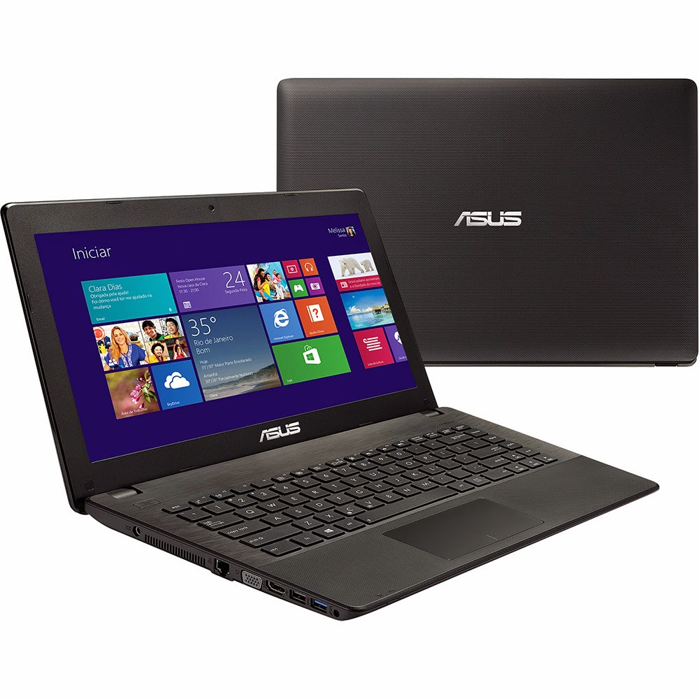 "Conheça o Notebook Asus X451CA-BRAL-VX104H com Intel Core i3 4GB 500GB Tela LED 14"" Windows 8.  BT Informática."