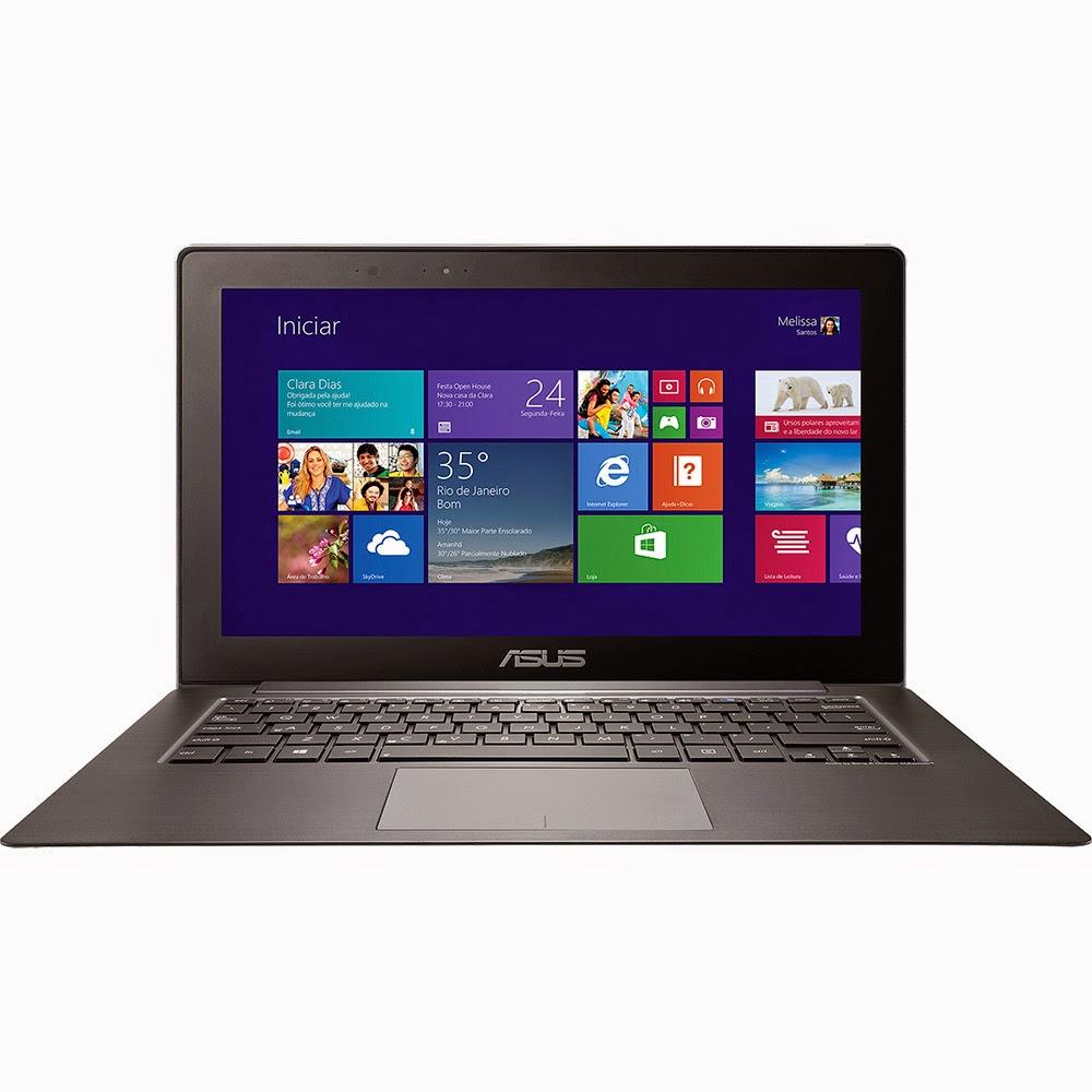 """Conheça o Ultrabook 2 em 1 Asus Taichi TAICHI31-CX023H com processador Intel Core i5 (3337U), 4GB de memória, 256GB SSD, tela LED de 13,3"""" Touchscreen, Bateria de 4 Células e Windows 8. BT Informática"""