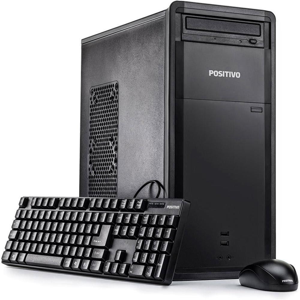 Conheça o Computador Positivo Premium DR8332 com Processador Intel Core i5 3330, 4GB, HD de 1TB, USB, Windows 8 - Preto
