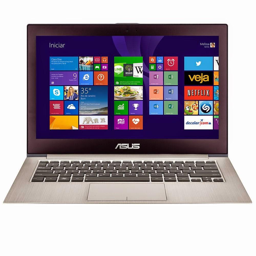 Conheça o Notebook ASUS UX31LA-C4051H Intel Core i7 8GB 2SSD Windows 8 + HDMI