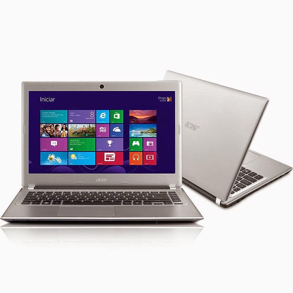 """Compre o Notebook Acer Aspire V5 471-6620 com Intel Core i3 LED 14"""" 4GB 500GB Windows 8"""