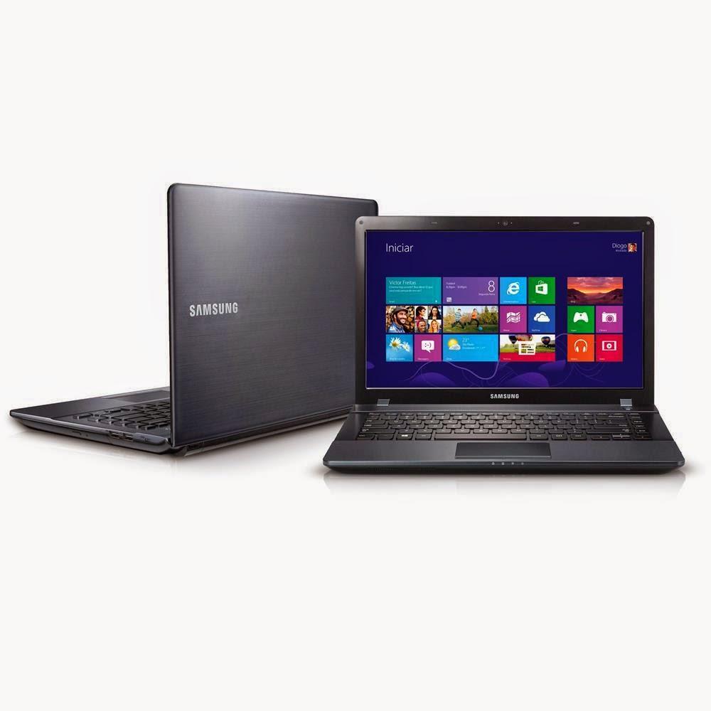 "Compre o Notebook Samsung ATIV Book 2 Intel® Core™ i3 - 3110M, 270E4E-KD4, 4GB, HD 500GB, 14"" LED HD, Preto, Webcam, Bluetooth 4.0 e HDMI - Windows 8"