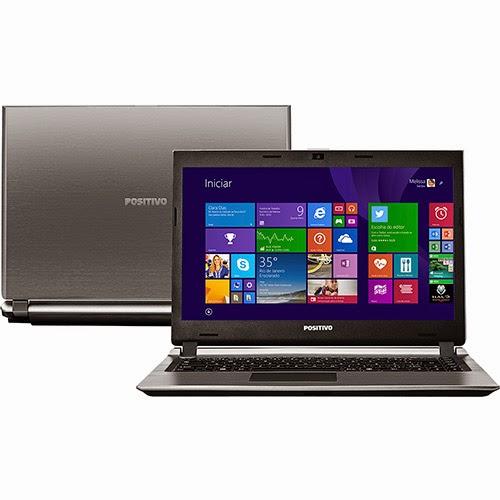 """Conheça o  Notebook Positivo Premium S6350 com processador Intel Core i5, 2GB de memória, HD de 500GB, Tela LED 14"""", Windows 8.1 + Pacote 3D Experience. BT Informática"""
