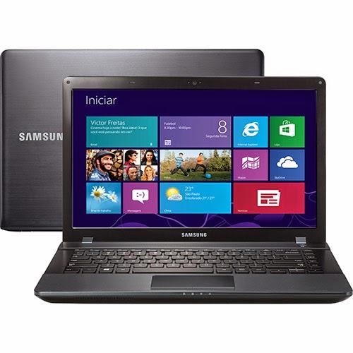"""Conheça o Notebook Samsung ATIV Book 2 NP275E4E-KD2BR com processador AMD Dual-Core E1-1500, 4GB de memória, HD de 500GB, tela de 14"""", Webcam, conexões USB e Windows 8. BT Informática."""