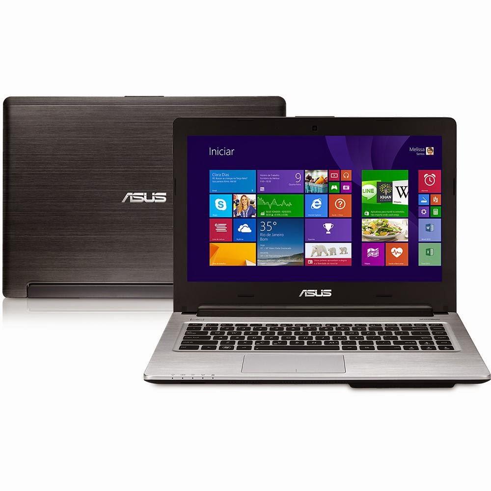 """Conheça o Ultrabook ASUS S46CA Intel Core i7, 6GB, 750GB, 14"""", HDMI e Windows 8"""