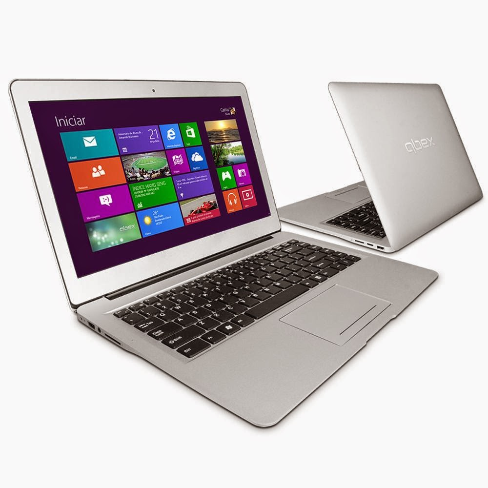 "Conheça o Ultrabook Qbex Intel® Core® i3 - 3217U, UX622, 8GB, HD 500GB, 14"" LED, HDMI, Bluetooth, Web Cam e Wi-Fi - Windows 8"