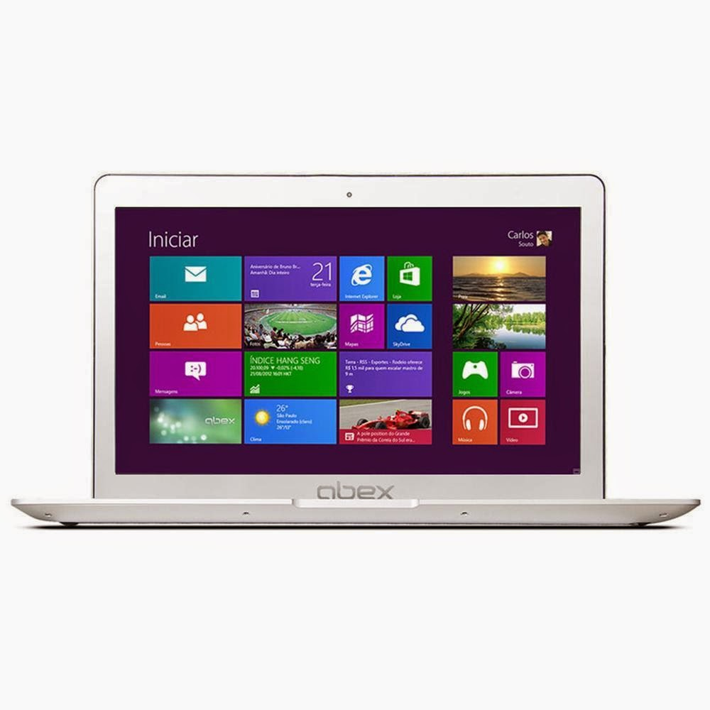 "Conheça o Notebook Ultrabook Qbex Intel® Core i5 - 3317U, UX626, 8GB, HD 500GB, 14"" LED, HDMI, Bluetooth, Web Cam e Wi-Fi - Windows 8"