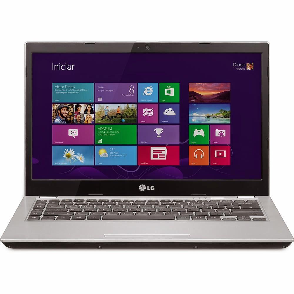 Conheça o Ultrabook LG U460-G.BK32P1 Tela LED 14'', Intel Core i3, Memória de 4GB, Windows 8.1, HDMI, USB, Bluetooth Prata