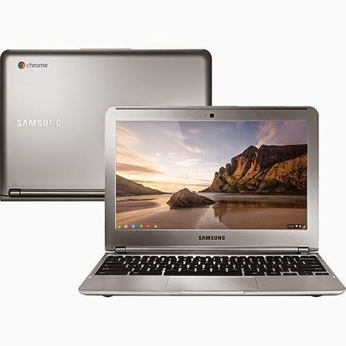 Conheça o Chromebook Samsung XE303C12-AD1BR com processador Samsung Exynos 5 Dual Core, 2GB de memória, HD de 16GB, Bateria de 2 células, Conexões USB e HDMI, Bluetooth, Tela LED 11,6'' e Google Chrome OS. BT Informática.