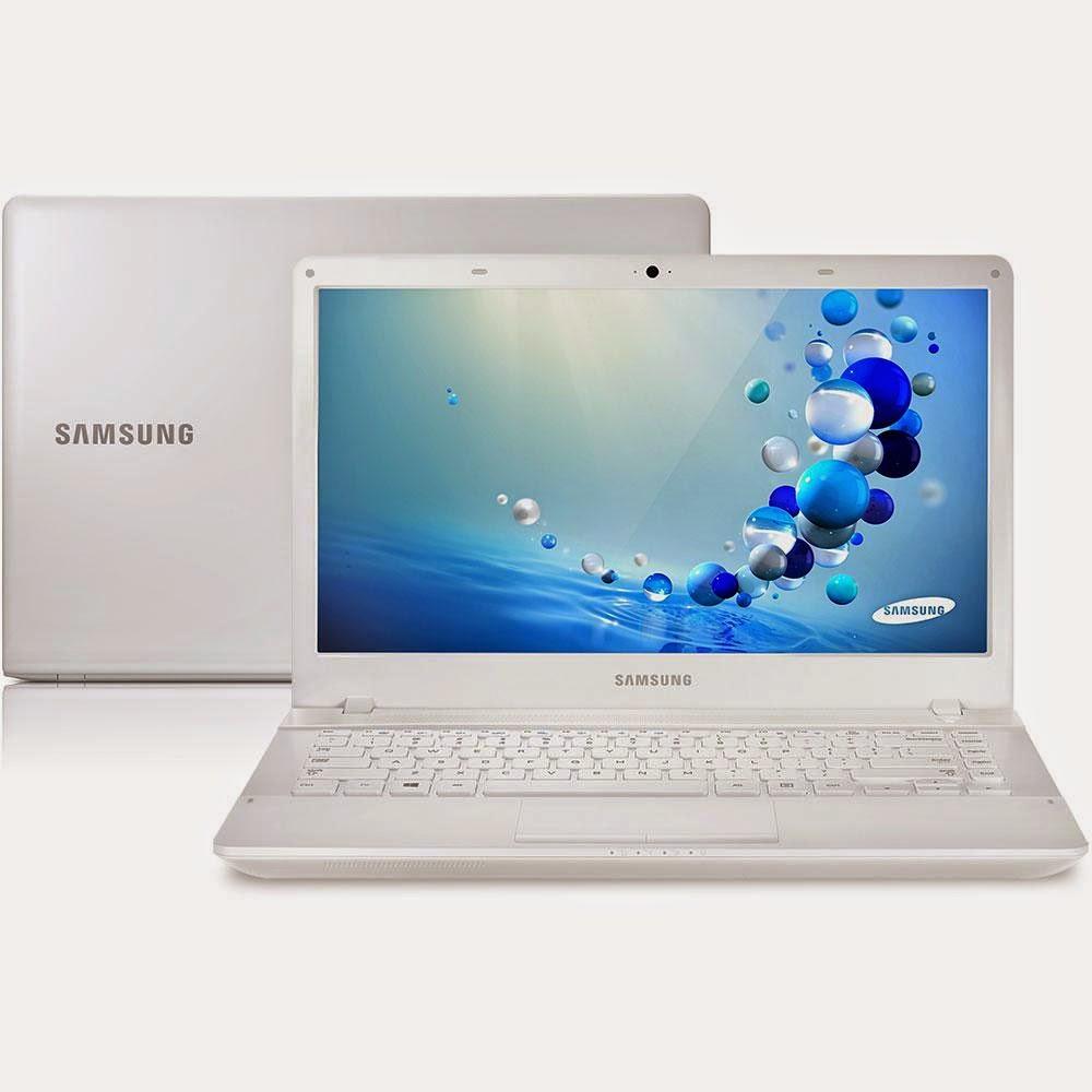 """Conheça o Notebook Samsung ATIV Book 2 270E4E-KDA com Processador Intel Core i3 (3110M), 4GB de memória, HD 500GB, Tela LED de 14"""", Conexões USB e HDMI, DVD-RW e Windows 8 - Branco. BT Informática."""