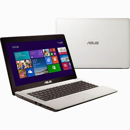 """Conheça o Notebook Asus X451CA-BRAL-VX125H com processador Intel Core i3 (2375M) com 3 MB de cache, 4GB de memória, HD de 500GB, DVD-RW, Bateria de 4 Células, Conexões USB e HDMI, Tela LED de 14"""", peso aproximado de 1,9kg e Windows 8. BT Informática."""