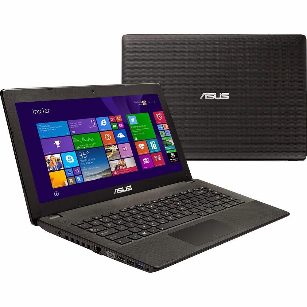 """Conheça o Notebook Asus X451CA-BRAL-VX155H com processador Intel Core i3 (3217U), 4GB de memória, HD de 500GB, Tela LED de 14"""", Wi-Fi, Conexões USB e HDMI, DVD-RW e Windows 8.1 BT Informática"""