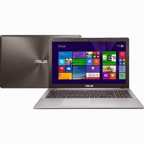 """Conheça o Notebook Asus X550LA-BRA-XX392H com processador Intel Core i5 (4200U), 8GB de Memória, HD de 500GB, DVD-RW, Tela LED de 15,6"""", Bateria de 4 Células, Conexões USB e HDMI, Peso aproximado de 2,3kg e Windows 8.1. BT Informática."""