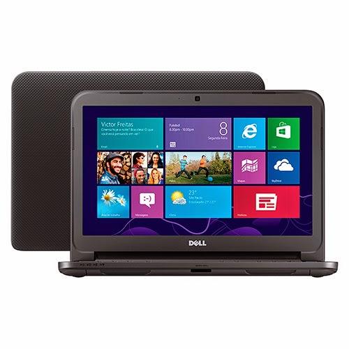 """Conheça o Notebook Dell Inspiron I14-3421-A10 com processador Intel Core i3 (3217U), 4GB de memória, HD de 1TB, DVD, Tela LED de 14"""", Bateria de 4 Células, Conexões USB, Peso aproximado de 1,9kg e Windows 8.1. BT Informática."""