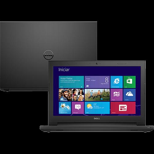 """Conheça o Notebook Dell Inspiron i14-3442-A10 com Processador Intel Core i3 (4005U), 4GB de memória, HD de 1TB, Conexões USB e HDMI, Bluetooth, DVD-RW, Tela LED de 14"""", Bateria de 4 Células, Peso aproximado de 2kg e Windows 8.1 BT Informática."""
