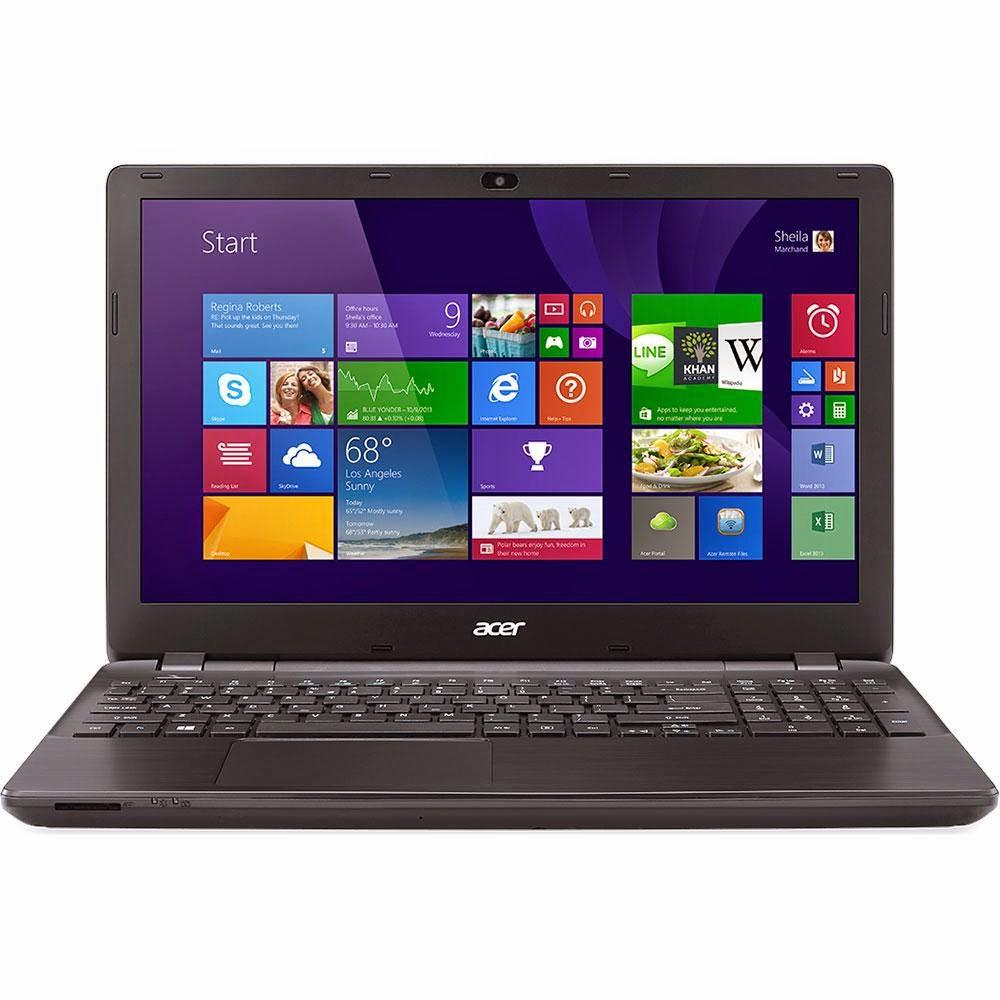 """Conheça o Notebook Acer E5-511-C7NE (NX.MREAL.003) com Processador Intel® Celeron Quad Core (N2940) de 1.83 GHz a 2.25 GHz e 2MB cache, 4GB de memória RAM, HD de 500GB, Tela de 15,6"""", Conexões USB e HDMI, Bluetooth, DVD-RW, Bateria de 6 Células, Peso aproximado de 2,50kg e Windows 8.1. BT Informática."""