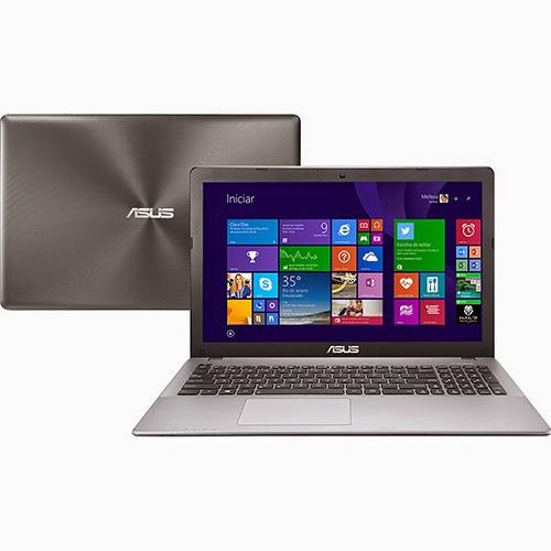 """Conheça o Notebook Ultrafino Asus X550LN-BRA-DM548H com processador Intel Core i5 (4210U) de 1.7 GHz a 2.7 GHz e 3 MB cache, 6GB de memória RAM, HD de 750GB, Tela LED 15,6"""", Placa de vídeo Geforce GT 840M com 2 GB de memória dedicada, Conexões USB e HDMI, DVD-RW, Bateria de 4 Células,  Peso aproximado de 2,3kg e Windows 8.1. Referência do Modelo: 90NB04S2-M05480 BT Informática."""