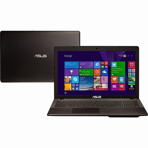"""Conheça o Notebook Ultrafino Asus X552EA-SX188H AMD Quad Core (E2-3800) de 1.3 GHz e 2 MB cache, 4GB de memória, HD de 500GB, Tela LED de 15,6"""", Conexões USB e HDMI, DVD-RW, Bateria de 4 Células, Peso aproximado de 2,3kg e Windows 8. Referência do Modelo: 90NB03RB-M03490. BT Informática."""