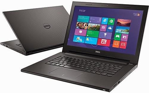 """Conheça o Notebook Dell Inspiron i14-3443-A40 com processador Intel Core i5 (5200U) de 2.2 GHz a 2.7 GHz e 3 MB cache, 8GB de memória RAM, HD de 1TB, Tela LED de 14"""", Placa de vídeo Geforce 820M com 2 GB de memória dedicada, Conexões USB e HDMI, Não possui drive de DVD, Bateria de 4 células, Peso aproximado de 2kg e Windows 8.1."""