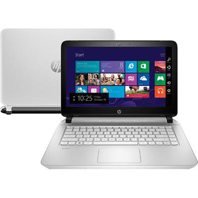 """Conheça o Notebook HP 14-v066Br (J2M43LA#AC4) com processador Intel Core i7 (4510U) de 2 GHz a 3.1 GHz e 4 MB cache, 8GB de memória, HD de 1TB, Tela 14"""", Placa de vídeo Geforce 830M com 2 GB de memória dedicada, Conexões USB e HDMI, Drive de DVD, Bateria de 4 células, Peso aproximado de 1,98kg e Windows 8.1. BT Informática."""