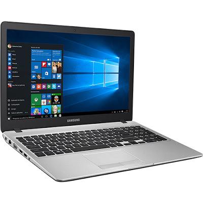 """Conheça o Notebook Samsung Expert X30 NP500R5H-XD1BR com processador intel Core i5 (5200U) de 2.2GHz a 2.7 GHz e 3 MB cache, 8GB de memória, HD de 1TB, Tela LED HD de 15,6"""", Placa de vídeo Geforce 940M com 2 GB de memória dedicada, Conexões USB e HDMI, Não possui drive de DVD, Bateria de 3 Células, peso aproximado de 2kg e Windows 10."""