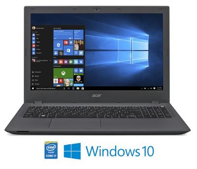 """Conheça o Notebook Acer E5-573-707B NX.G5UAL.021 com processador Intel Core i7 (5500U) de 2.4 GHz a 3 GHz e 4 MB cache, 8GB de memória, HD de 1TB, Tela LED de 15,6"""", Conexões USB e HDMI, Drive de DVD, Bateria de 4 células, peso aproximado de 2,4kg e Windows 10."""
