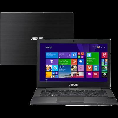 """Conheça o Notebook Asus PU401LA-WO074P com processador Intel Core i5 (4200U) de 1.6 GHz a 2.6 GHz e 3 mb cache, 6GB de memória, HD de 500GB, Tela LED de 14"""", Conexões USB e HDMI, Não possui drive de DVD, Bateria de 3 células, Peso aproximado de 1,7kg e Windows 8 Pro."""