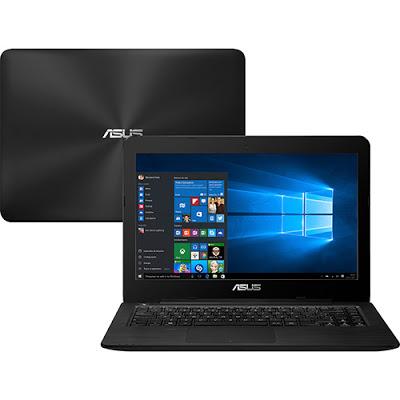 """Conheça o Notebook Asus Z450LA-WX002T com processador Intel Core i5 (5200U) de 2.2 GHz a 2.7 GHz e 3 MB cache, 8GB de memória, HD de 1TB, Tela LED de 14"""", Conexões USB e HDMI, Drive de DVD, Bateria de 2 células, Peso aproximado de 2,1kg e Windows 10."""