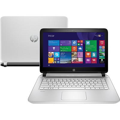"""Conheça o Notebook HP 14-V067BR com processador Intel Core i7 (4510U) de 2 GHz a 3.1 GHz e 4 MB cache, 4GB de memória, HD de 1TB, Tela LED de 14"""", Placa de vídeo Geforce 840M com 2 GB de memória dedicada, Conexões USB e HDMI, Drive de DVD, Bateria de 4 células, Peso aproximado de 1,9kg e Windows 8.1."""