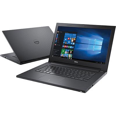 """Conheça o Notebook Dell Inspiron i14-3442-C10 com processador Intel Core i3 (4005U) de 1.7 GHz e 3 MB cache, 4GB de memória, HD de 1TB, Tela de 14"""", Conexões USB e HDMI, Drive de DVD, Bateria de 4 células, Peso aproximado de 2 kg e Windows 10."""