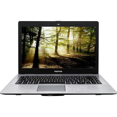 """Conheça o Notebook Positivo Stilo XR3150 com processador Intel Celeron Dual Core (N2808) de 1.58 GHz a 2.25 GHz e 1 MB cache, 4GB de memória, HD de 500GB, Tela LED de 14"""", Conexões USB e HDMI, não possui Drive de DVD, Bateria de 2 células, peso aproximado de 1,5kg e acompanha o sistema operacional Linux."""