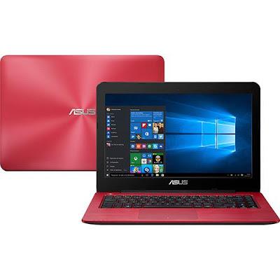"""Conheça o Notebook Asus Z450LA-WX007T com processador Intel Core i5 (5200U) de 2.2 GHz a 2.7 GHz e 3 MB cache, 4GB de memória, HD de 1TB, Tela LED de 14"""", Conexões USB e HDMI, Drive de DVD, Bateria de 2 células, Peso aproximado de 2,1kg e Windows 10."""