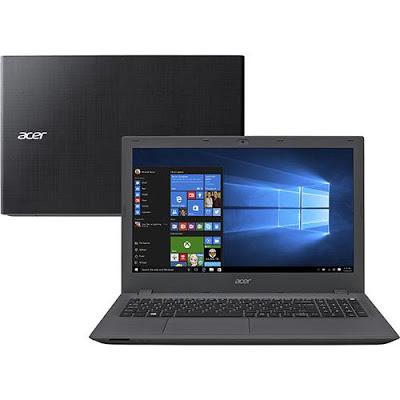 """Conheça o Notebook Acer E5-574-78LR NX.GAPAL.003 com processador Intel Core i7 (6500U) de 2.5 GHz a 3.1 GHz e 4 MB cache, 8GB de memória (Expansível até 16GB), HD de 1TB (5.400 RPM), Tela LED de 15.6"""", Placa de vídeo Integrada Intel HD Graphics 520 co resolução máxima de 1366 X 768, Conexões USB e HDMI, Drive de DVD, Bateria de 4 células (2520mAh), Peso aproximado de 2,4kg e Windows 10."""