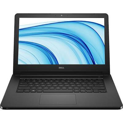 """Conheça o Notebook Dell Inspiron I14-5458-D08P com processador Intel Core i3 (5005U) de 2 GHz e 3 MB cache, 4GB de memória, HD de 1TB, Tela LED de 14"""", Conexões USB e HDMI, Não possui Drive de DVD, Bateria de 4 Células (40WHr), Peso aproximado de 2kg e Sistema Operacional Linux."""
