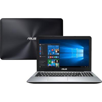 """Conheça o Notebook Asus X555UB-BRA-XX299T com processador Intel Core i5 (6200U) de 2.3 GHz a 2.8 Ghz e 3 MB cache, 8GB de memória, HD de 1TB, Tela LED de 15,6"""", Placa de vídeo Geforce 940M com 2 GB de memória dedicada, Conexões USB e HDMI, Não possui Drive de DVD, Bateria de 2 células(3300 mAh), Peso aproximado de 2,3kg e Windows 10."""