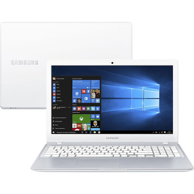 """Conheça o Notebook Samsung Expert X51 NP500R5L-YD3BR com processador Intel Core i7 (6500U) de 2.5 GHz a 3.1 GHz e 4 MB cache, 8GB de memória, HD de 1TB, Tela LED Full HD de 15,6"""", Placa de vídeo Gefoforce 940M com 2 GB de memória dedicada, Conexoes USB e HDMI, Não possui Drive de DVD, Bateria de 3 células (43Wh), Peso aproximado de 1,9 kg e Windows 10."""