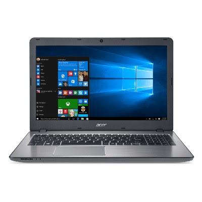 """Conheça o Notebook Acer Aspire F5-573G-771D com processador Intel Core i7 (6500U) de 2.5 GHz a 3.1 GHz e 4 MB cache, 16 GB de memória, HD de 2TB, Tela LED de 15,6"""", Placa de vídeo da GeForce 940MX com 2 GB de memória dedicada, Conexões USB e HDMI, Drive de DVD, Bateria de 4 células (2800mAh), Peso aproximado de 2,3 kg e Windows 10."""