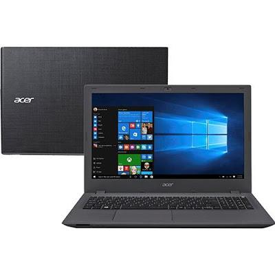 """Conheça o Notebook Acer Aspire E5-574G-75ME NX.GAYAL.001 com processador Intel Core i7 (6500U) de 2.5 GHz a 3.1 GHz e 4 MB cache, 8GB de memória RAM, HD de 1TB, Tela LED de 15.6"""", Placa de vídeo Geforce 940M com 4 GB de memória dedicada, Conexões USB e HDMI, Drive de DVD, Bateria de 4 células, Peso aproximado de 2,4kg e Windows 10."""