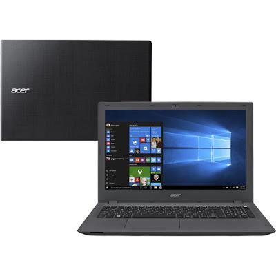 """Conheça o Notebook Acer Aspire E5-574-73SL com processador Intel Core i7 (6500U) de 2.5 GHz a 3.1 GHz e 4 MB cache, 8 GB de memória RAM, HD de 1 TB (5.400 RPM), Tela LED HD de 15,6"""" com resolução máxima de 1366 X 768, Placa de Vídeo Intel HD Graphics 520, Conexões USB e HDMI, Wi-Fi 802.11bgn, Drive de DVD, Bateria de 4 células (2520mAh), Peso aproximado de 2,4kg e Windows 10."""