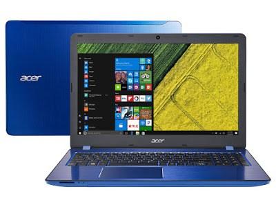 """Conheça o Notebook Acer Aspire F5-573G-71BW com processador Intel Core i7 (7500U) de 2.7 GHz a 3.5 GHz e 4 MB cache, 16 GB de memória RAM (DDR4 2133 MHz - expansível até 32GB), HD de 2TB (5.400 RPM), Tela LED HD de 15,6"""" com resolução máxima de 1366 X 768, Placa de Vídeo integrada Intel HD Graphics 620 + Geforce 940MX com 4GB de memória dedicada (DDR5), Conexões USB e HDMI, Wi-Fi 802.11 b/g/n, Drive de DVD, Bateria de 4 células (2800 mAh), Peso aproximado de 2,3kg e Windows 10."""