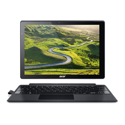 """Conheça o Notebook Acer Switch Alpha 12 SA5-271-59BH 2 em 1 Portátil NT.LCDAL.007 com processador Intel Core i5 (6200U) de 2.3 GHz a 2.7 GHz e 3 MB cache, 4GB de memória RAM, SSD de 128 GB, Tela LED de 12"""" IPS QHD com resolução máxima de 2160 x 1440, Placa de vídeo integrada Intel HD Graphics 520, Conexões USB, Wi-Fi 802.11 ac, Não possui Drive de DVD, Bateria de 2 células (4870mAh), Peso aproximado de 1.25kg e Windows 10."""