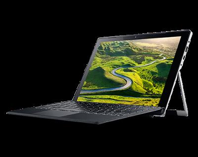 """Conheça o Notebook Acer Switch Alpha 12 SA5-271-71D8 2 em 1 Portátil NT.LCDAL.009 com processador Intel Core i7 (6500U) de 2.5 GHz a 3.1 GHz e 4 MB cache, 8GB de memória RAM (LPDDR3), SSD de 512 GB, Tela Touch LED de 12"""" IPS QHD com resolução máxima de 2160 x 1440, Placa de vídeo integrada Intel HD Graphics 520, Conexões USB, Wi-Fi 802.11 ac, Não possui Drive de DVD, Bateria de 2 células (4870mAh), Peso aproximado de 1.25kg e Windows 10."""