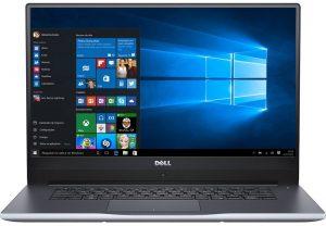 """Conheça o Notebook Dell Inspiron i15-7560-A20S com processador Intel Core i7 (7500U) de 2.7 GHz a 3.5 GHz e 4 MB cache, 8GB de memória RAM (DDR4 2133 MHz- expansível até 32GB), HD de 1 TB (5.400 RPM), Tela LED FULL HD com Trulife de 15,6"""" e resolução máxima de 1920 x 1080, Placa de Vídeo integrada Intel HD Graphics 620 e Geforce 940MX com 2GB (GDDR5) de memória dedicada, Conexões USB e HDMI, Wi-Fi 802.11 ac, Não possui Drive de DVD, Bateria de 3 células (42WHr), Peso aproximado de 2kg e Windows 10."""