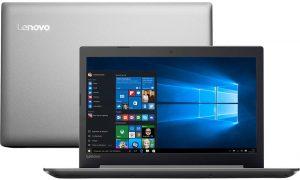"""Conheça o Notebook Lenovo Ideapad 320 80YH0000BR com processador Intel Core i7 (7500U) de 2.7 GHz a 3.5 GHz e 4 MB cache, 16GB de memória RAM (DDR4 2133 MHz), HD de 2 TB (5.400 RPM), Tela LED FULL HD antirreflexo de 15,6"""" com resolução máxima de 1920 X 1080, Placa de Vídeo integrada Intel HD Graphics 620 e Geforce 940MX com 4GB de memória dedicada, Conexões USB e HDMI, Wi-Fi 802.11 ac, Não possui Drive de DVD, Bateria de 2 células (30WHr), Peso aproximado de 2kg e Windows 10."""