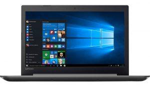 """Conheça o Notebook Lenovo Ideapad 320 80YH0001BR com processador Intel Core i7 (7500U) de 2.7 GHz a 3.5 GHz e 4 MB cache, 8GB de memória RAM (DDR4 2133 MHz - Expansível até 16GB), HD de 1 TB (5.400 RPM), Tela LED FULL HD antirreflexo de 15,6"""" com resolução máxima de 1920 X 1080, Placa de Vídeo integrada Intel HD Graphics 620 e Geforce 940MX com 2GB de memória dedicada, Conexões USB e HDMI, Wi-Fi 802.11 ac, Não possui Drive de DVD, Bateria de 2 células (30WHr), Peso aproximado de 2kg e Windows 10."""