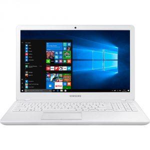 """Conheça o Notebook Samsung Expert X51 NP500R5M-XW3BR com processador Intel Core i7 (7500U) de 2.7 GHz a 3.5 GHz e 4 MB cache, 8GB de memória RAM (DDR4 - 2133 MHz), HD de 1 TB (5.400 RPM), Tela LED FULL HD antirreflexiva de 15,6"""" e resolução máxima de 1920 x 1080, Placa de Vídeo integrada Intel HD Graphics 620 e Geforce 940MX com 2GB de memória dedicada, Conexões USB e HDMI, Wi-Fi 802.11 ac, Não possui Drive de DVD, Bateria de 3 células (43WHr), Peso aproximado de 1,90kg e Windows 10."""