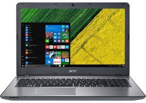 """Conheça o Notebook Acer Aspire F5-573G-75A3 NX.GJTAL.003 com processador Intel Core i7 (7500U) de 2.7 GHz a 3.5 GHz e 4 MB cache, 8 GB de memória RAM (DDR4 2133 MHz - expansível até 32GB), HD de 1TB (5.400 RPM), Tela LED HD de 15,6"""" com resolução máxima de 1366 X 768, Placa de Vídeo integrada Intel HD Graphics 620 + Geforce 940MX com 4GB de memória dedicada (DDR5), Conexões USB e HDMI, Wi-Fi 802.11 b/g/n, Drive de DVD, Teclado retroiluminado, Bateria de 4 células (2800 mAh), Peso aproximado de 2,3kg e Windows 10."""