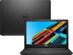 """O Notebook Dell Inspiron i15-3567-A30P possui processador Intel Core i5 (7200U) de 2.5 GHz a 3.1 GHz e 3MB cache, 4GB de memória RAM (DDR4 2400 MHz - expansível até 16GB), HD de 1 TB (5.400 RPM), Tela LED HD de 15,6"""" com resolução máxima de 1366 x 768, Placa de Vídeo integrada Intel HD Graphics 620, Conexões USB e HDMI, Wi-Fi 802.11 b/g/n, Não possui Drive de DVD, Bateria de 4 células (40Wh), Peso aproximado de 1,96kg e Windows 10 64 bits."""