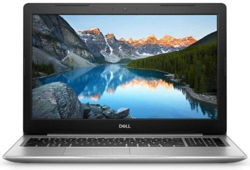 """Conheça o Notebook Dell Inspiron i15-5570-B20C com processador Intel Core i5 (8250U) de 1.6 GHz a 3.4 GHz e 6MB cache, 8GB de memória RAM (DDR4 2400MHz - 1x8GB), HD de 1 TB (5.400 RPM), Tela LED HD de 15,6"""" com antirreflexo e resolução máxima de 1366 x 768, Placa de Vídeo integrada Intel UHD Graphics 620 e AMD Radeon 530 com 2GB de memória dedicada (GDDR5), Conexões USB e HDMI, Wi-Fi 802.11 b/g/n/ac, Não possui Drive de DVD, Bateria de 3 células (42Wh), Peso aproximado de 2kg e Windows 10 64 bits."""